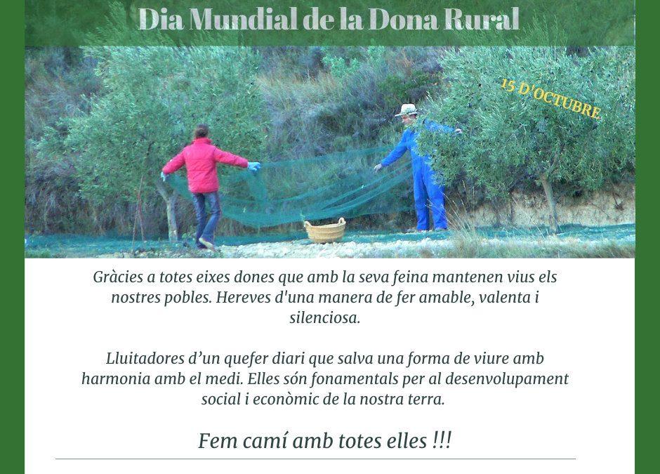 15 d'octubre, Dia Internacional de la Dona Rural. Oli de La Torre.