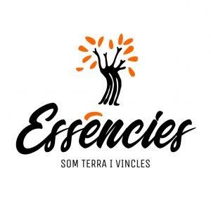 Logo Essències - Vertical