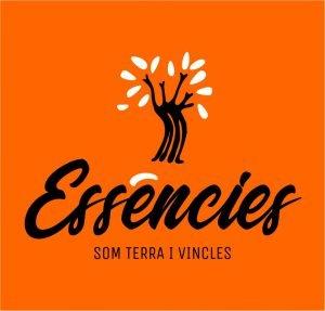 Logo Essències - Vertical negatiu