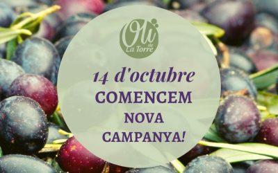 14 d'octubre, comencem nova campanya!